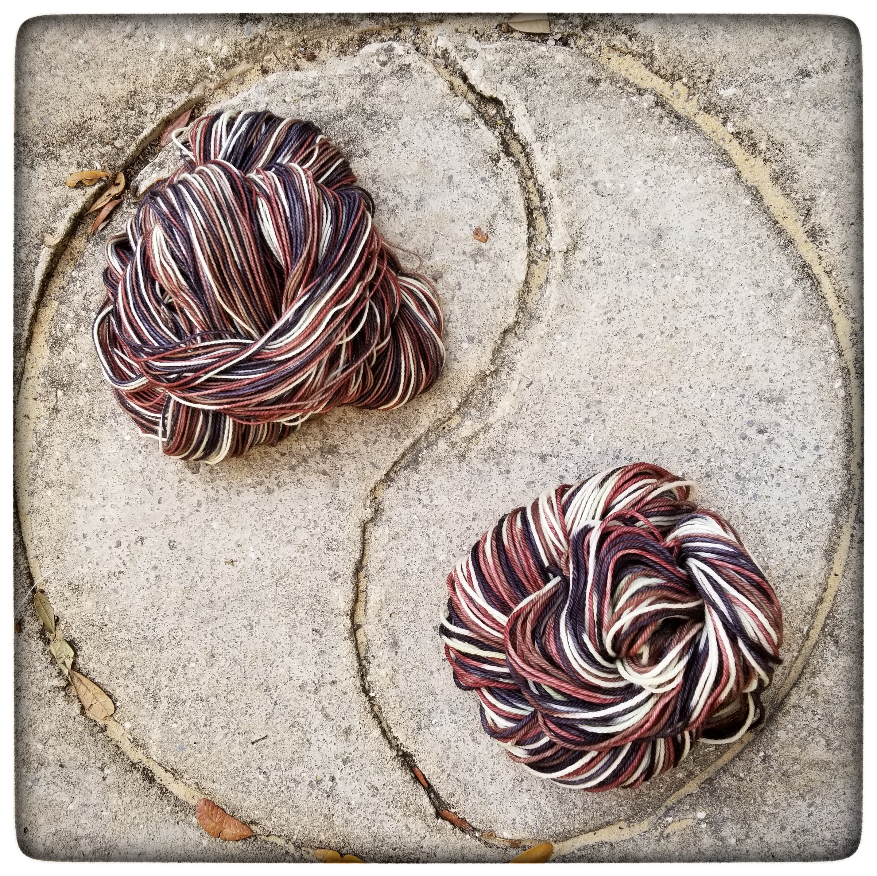 January 2018 Yarn Club: Man Winding Yarn