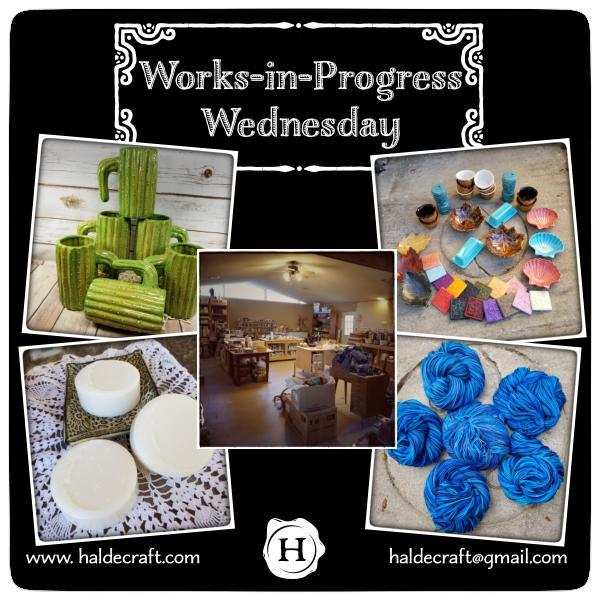 Works-in-Progress Wednesday (03/07/18)