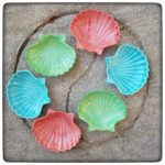 Both restocked and new in the shop: Shell Soap Dishes