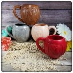 This Week Only: One-Off Cabled yarn mugs