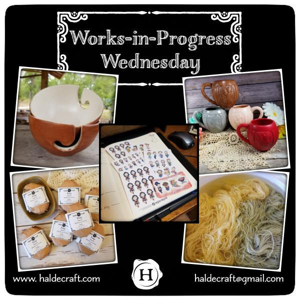 Works-in-Progress Wednesday (06/06/18)