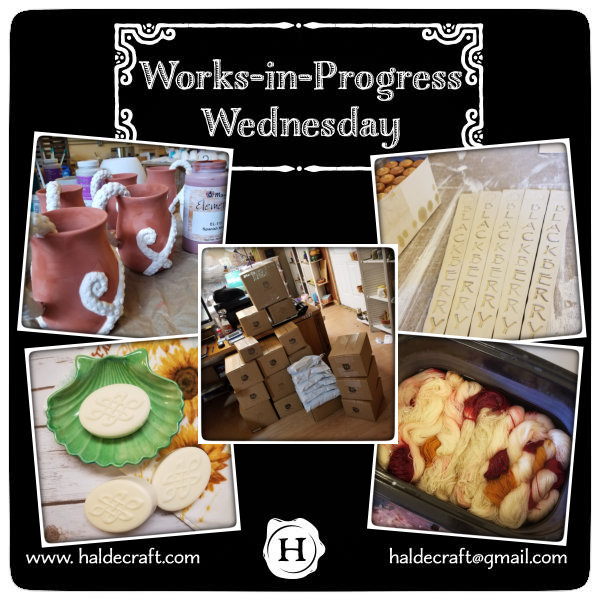 Works-in-Progress Wednesday (08/22/18)
