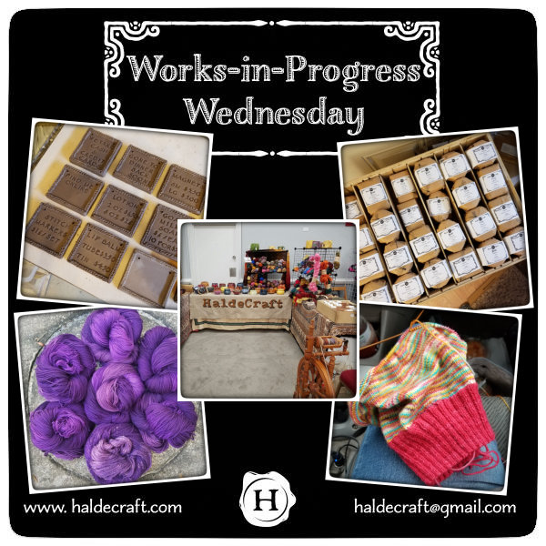 Works-in-Progress Wednesday (09/12/18)