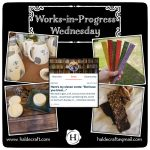 Works-in-Progress Wednesday (10/31/18)