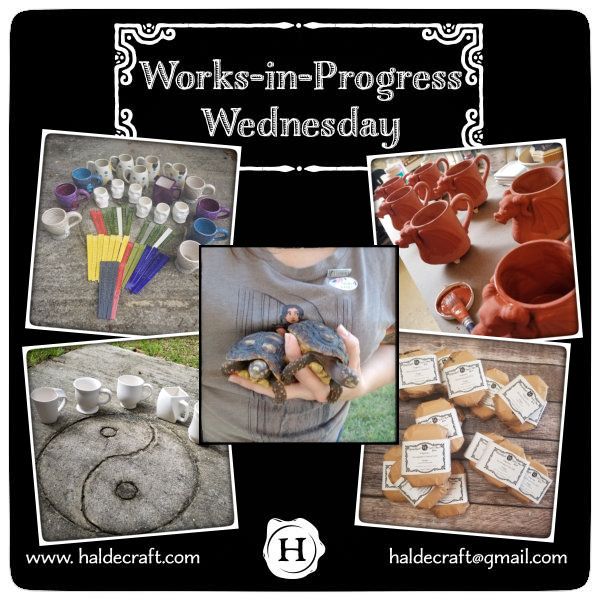 Works-in-Progress Wednesday (11/07/18)