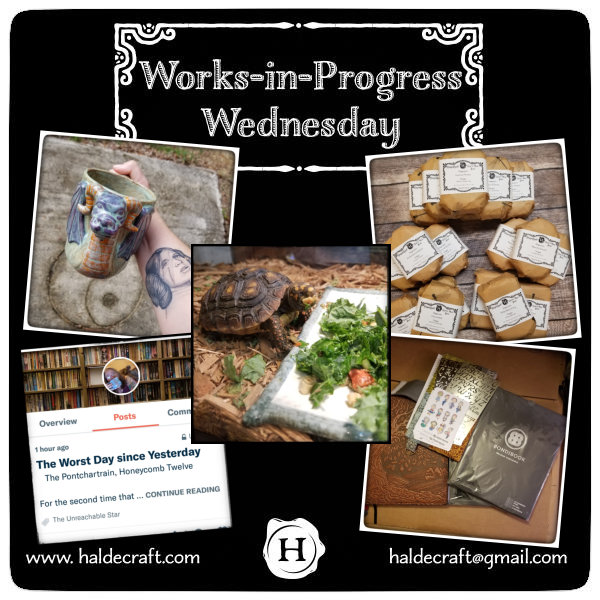 Works-in-Progress Wednesday (11/14/18)