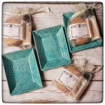 Snow Flurries HaldeCrate: soap sets and dishes