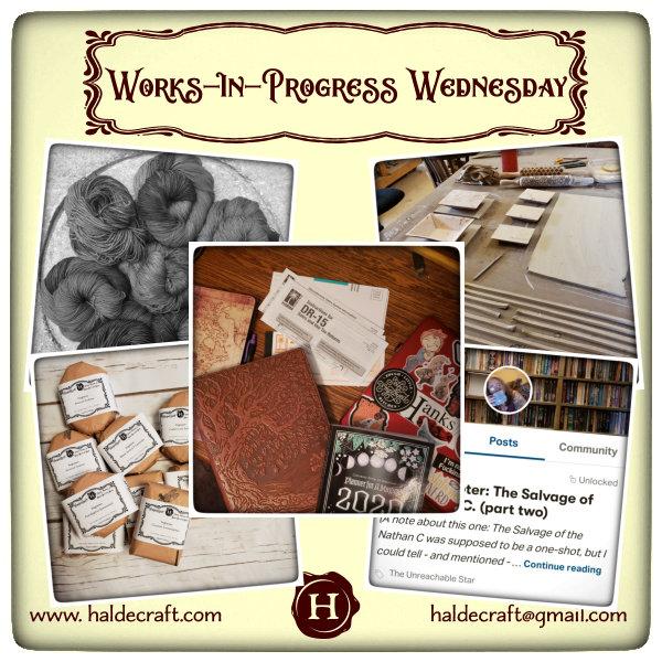WiP Wednesday (01/08/20)