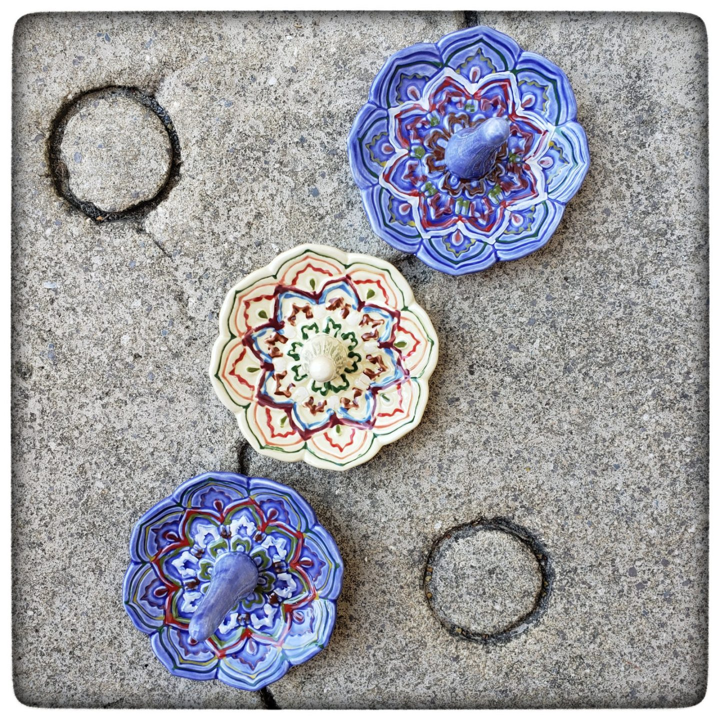 New in the shop: Colorful Ring Holders